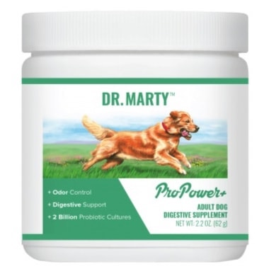 Dr. Marty Pro Power Plus Digestive Dog Supplement