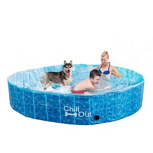 ALL FOR PAWS Outdoor Bathing Dog Pool