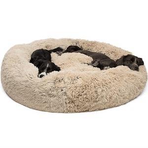 Best Friends by Sheri Calming Fur Donut Cuddler