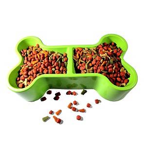 Big1one Plastic Dog Food Bowl