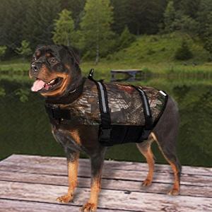 Camo Pet Life Preserver Jacket Camouflage Dog Life Jacket
