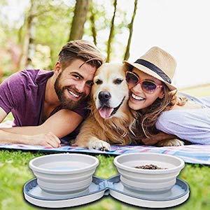 DogBuddy Large Travel Bowls