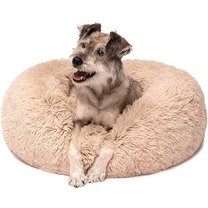 Friends Forever Faux Fur Dog Beds