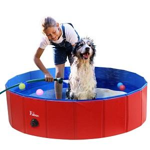 Fuloon PVC Pet Swimming Pool Portable