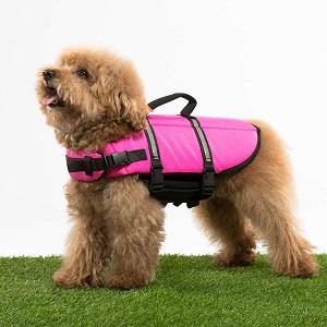 Hollypet Dog Life Jacket Adjustable Dog Lifesaver
