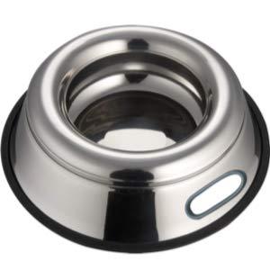 Indipets Stainless Steel Splash Free Dog Bowl
