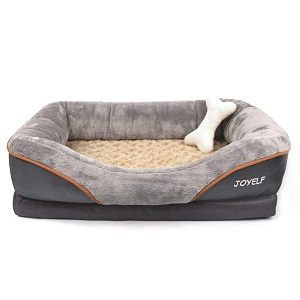 JOYELF Orthopedic Dog Bed Memory Foam Dog Bed
