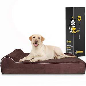 KOPEKS High-Grade Memory Foam Dog Bed