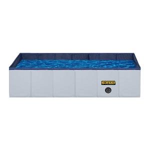 KOPEKS Outdoor Portable Rectangular Dog Swimming Pool