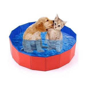 Mcgrady1xm Collapsible Pet Dog Swimming Pool