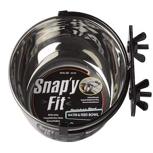 MidWest Homes for Pets Snap'y Fit Pet Bowl