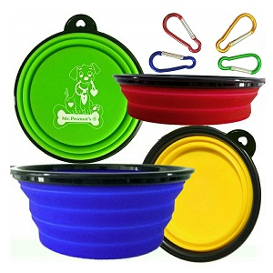 Mr. Peanuts Collapsible Dog Bowl