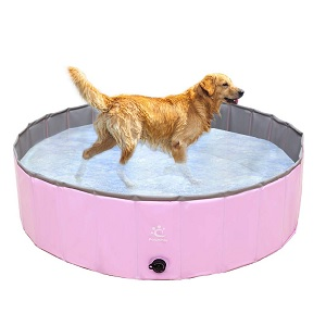 PAWCHIE Dog Swimming Pool Collapsible Pet Poo