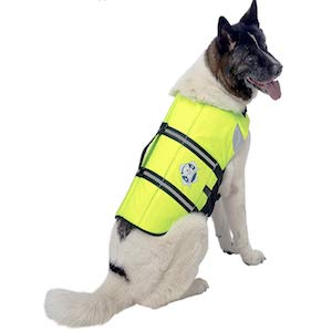 Paws Aboard Yellow Dog Life Vest