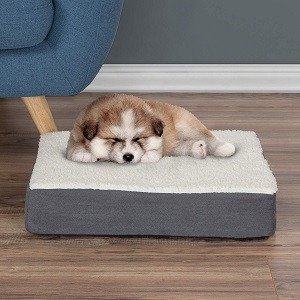 Petmaker Orthopedic Sherpa Top Pet Bed