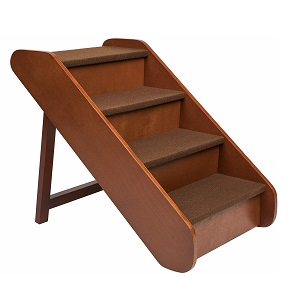 PetSafe Solvit PupSTEP Wood Foldable Dog Stairs
