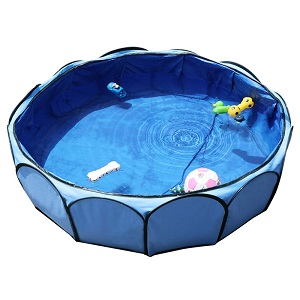 Petsfit Portable Outdoor Pool for Small to Medium Dogs