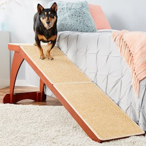 Solvit Wood Bedside Dog Ramp