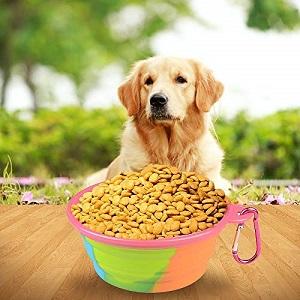 Soopus Dog Feeding Collapsible Bowls