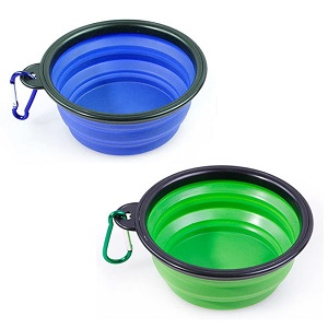 Starbuy Collapsible Dog Bowls