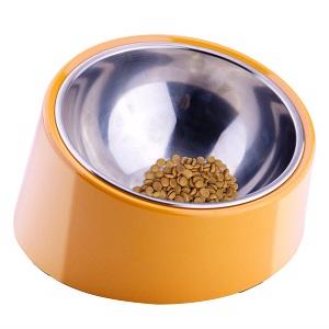 Super Design Mess Free 15° Slanted Bowl for Dogs