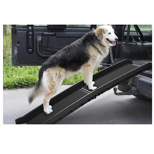 "TOBBI 62"" Bi-fold Portable Dog Ramp for Large Dogs"