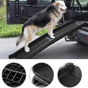 "TOBBI 62"" Bi-fold Portable Dog Ramp for Large Pet"