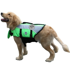 Vivaglory New Sports Style Ripstop Life Jacket for Dogs